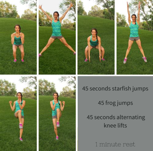 Heart Rate Blasting HIIT Workout. Cardio and toning all in one 20 minute workout. Interval #1