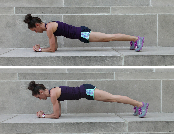 Hip Raises - Plank Love Workout