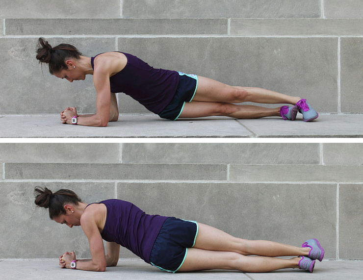Side-to-Side Taps - Plank Love Workout