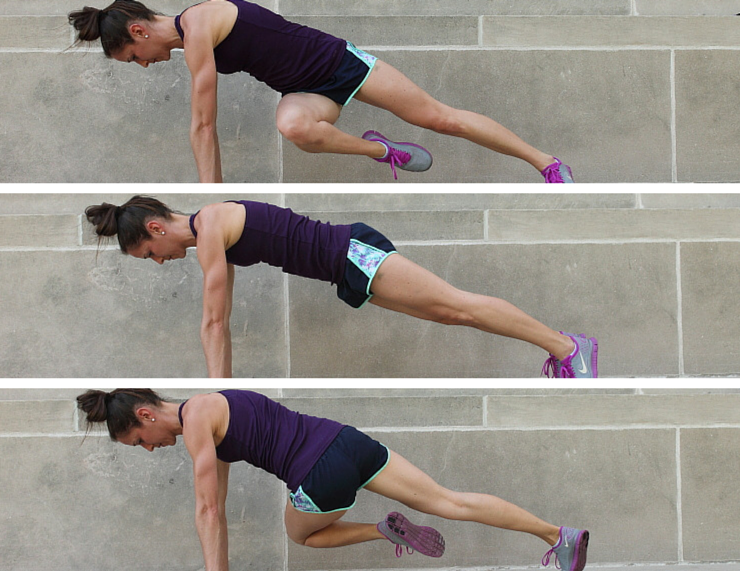 Side Twists - Plank Love Workout