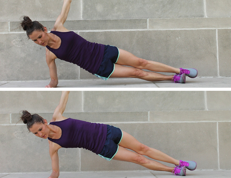 Lifting Side Planks - Plank Love Workout