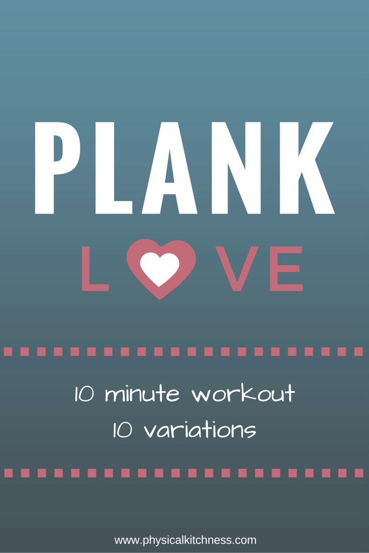 10-minute plank workout