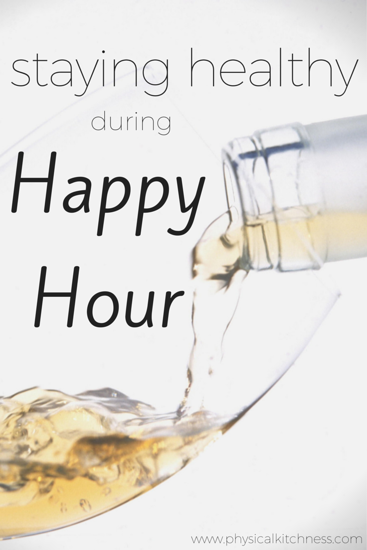 How to make healthy choices during happy hour