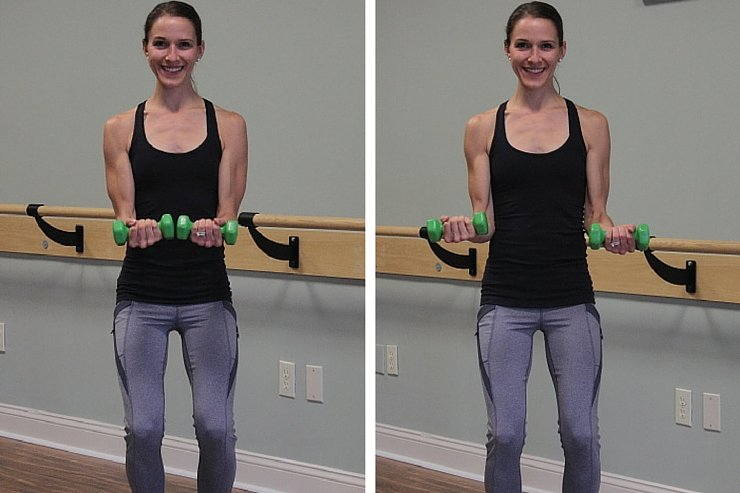 Weighted Bicep Taps to Tranform Your Arms