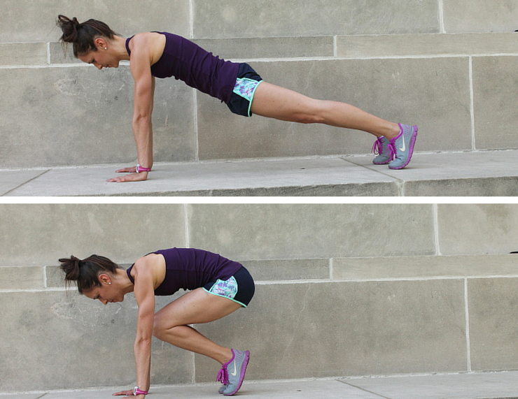 Jumping In and Outs - Plank Love Workout