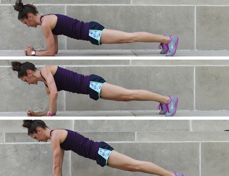 Plank Walks - Plank Love Workout