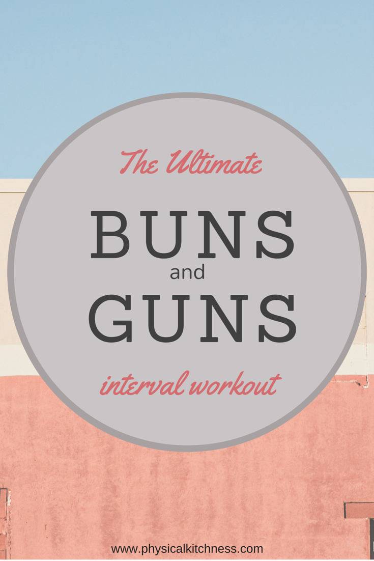 The Ultimate Buns & Guns Interval Workout