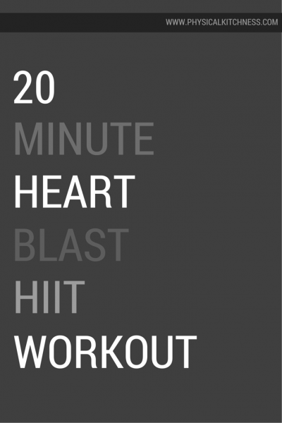 Heart Blast HIIT Workout