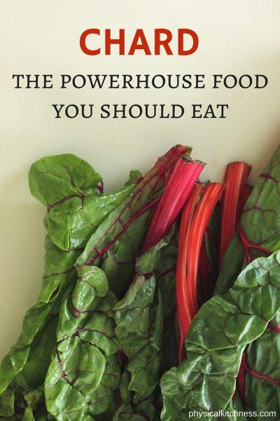 The Powerhouse Food You Should Eat – CHARD