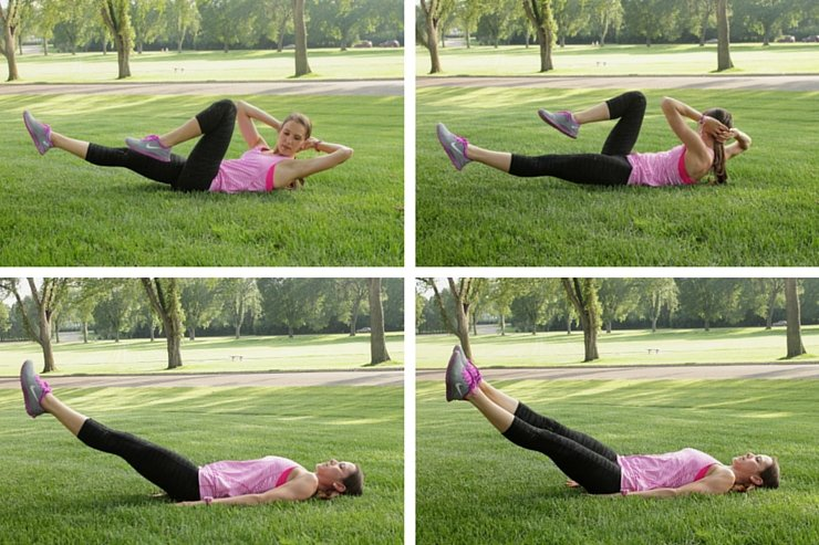 The second set of this ab sculpting 101 workout