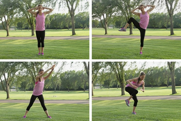 The fifth set of this ab sculpting 101 workout