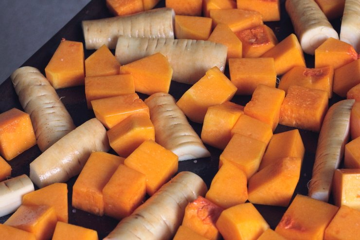 Butternut Squash and Parsnips Combined with Leeks Make an Amazing Fall Comfort Soup