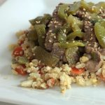 Delicious Paleo/Whole30 Green Pepper Steak