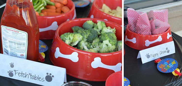 First Birthday - Vegetable Sides and a Healthier Puppy Chow
