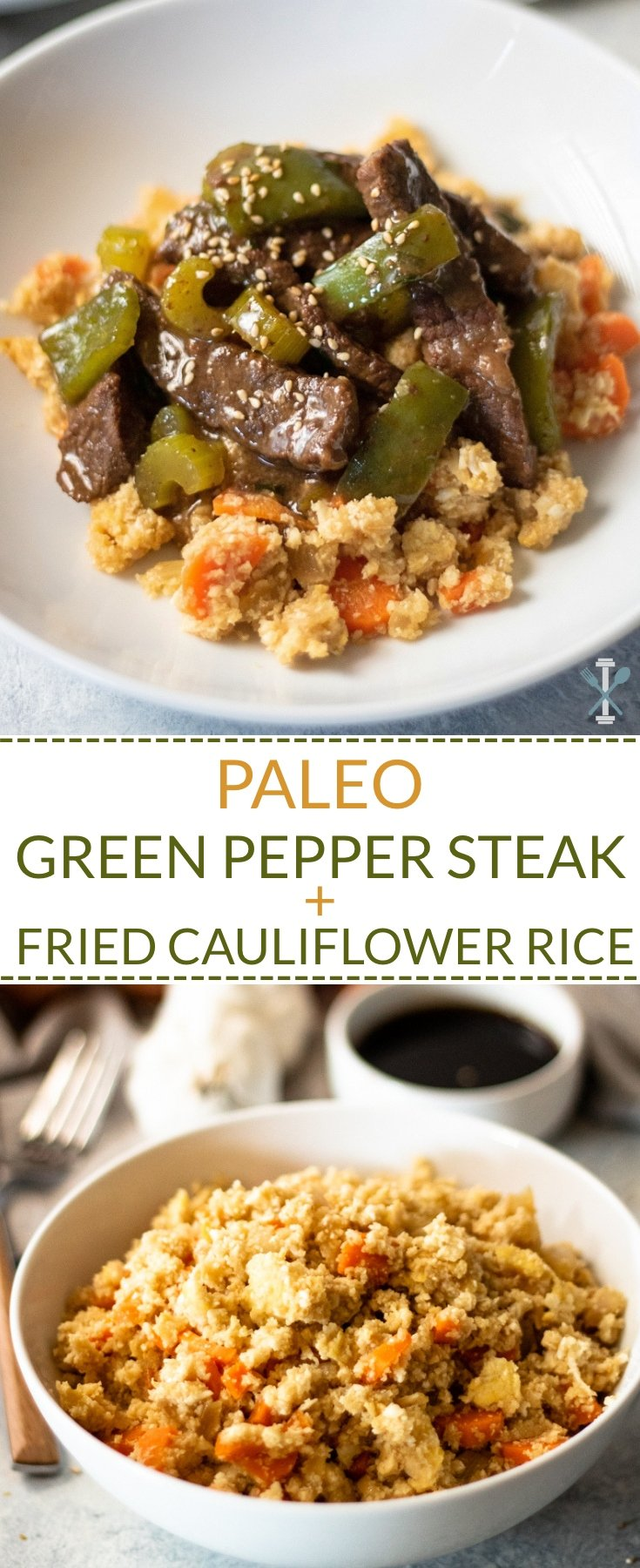 This paleo + Whole30 compliant dinner is full of amazing Asian-inspired flavor. Grain free, low carb, dairy free