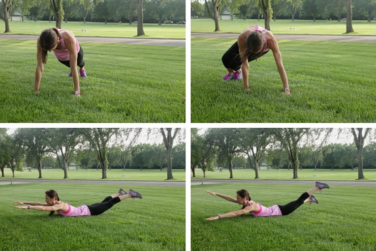 The fourth set of this ab sculpting 101 workout