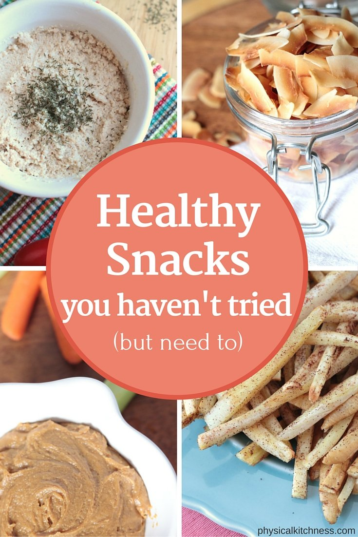 Snack Rut? Healthy snack ideas and recipes you haven't tried yet.