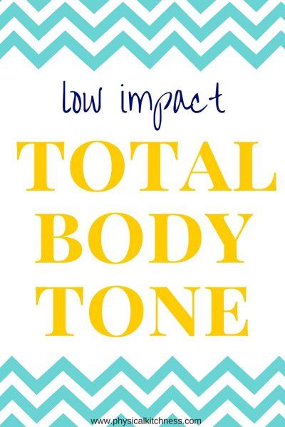 Low-Impact Total Body Tone
