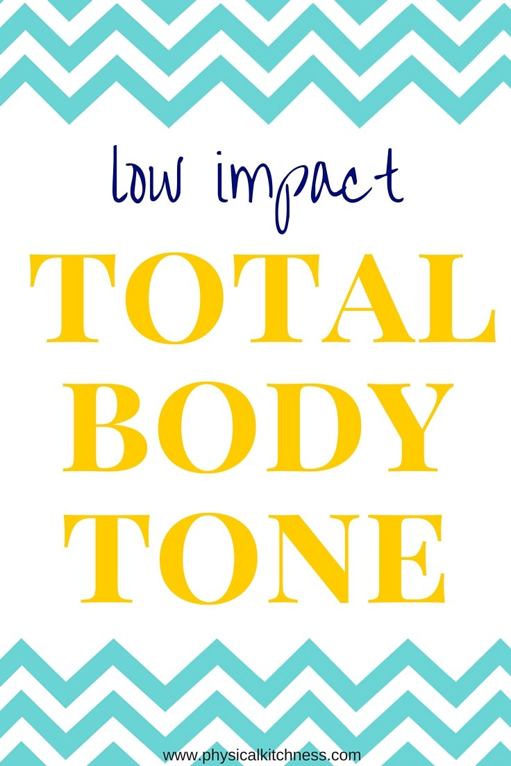 A workout designed to ease stress on your joints but still sculpting and toning your entire body