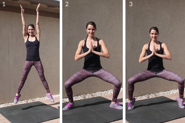 Plyometrics combined with barre-inspired moves targets your entire lower body