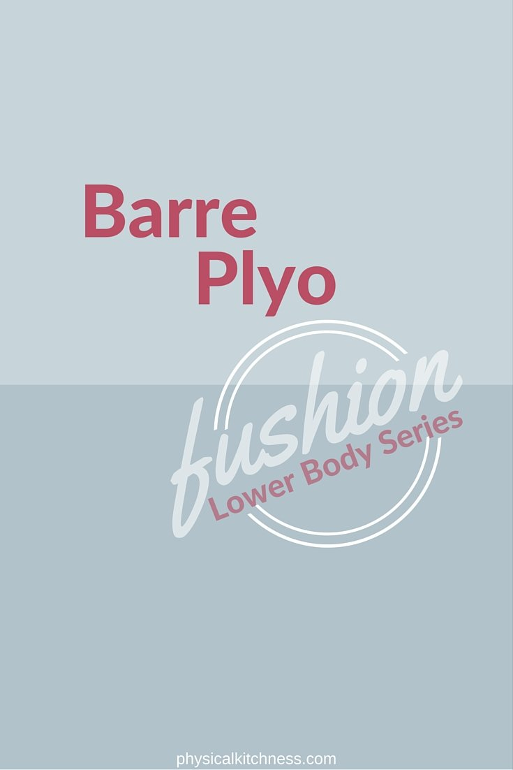 Barre-Inspired Plyometric Lower Body Workout WILL tone & sculpt your thighs and backside in 20 minutes!