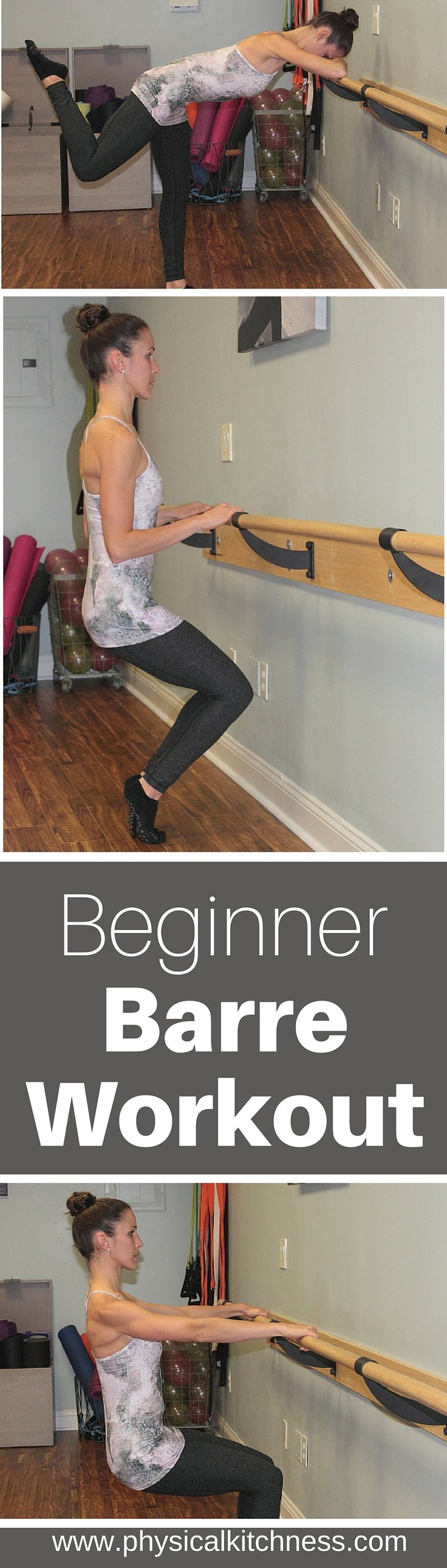 Have you ever wanted to try barre? Check out this beginner, at-home workout and form guide!