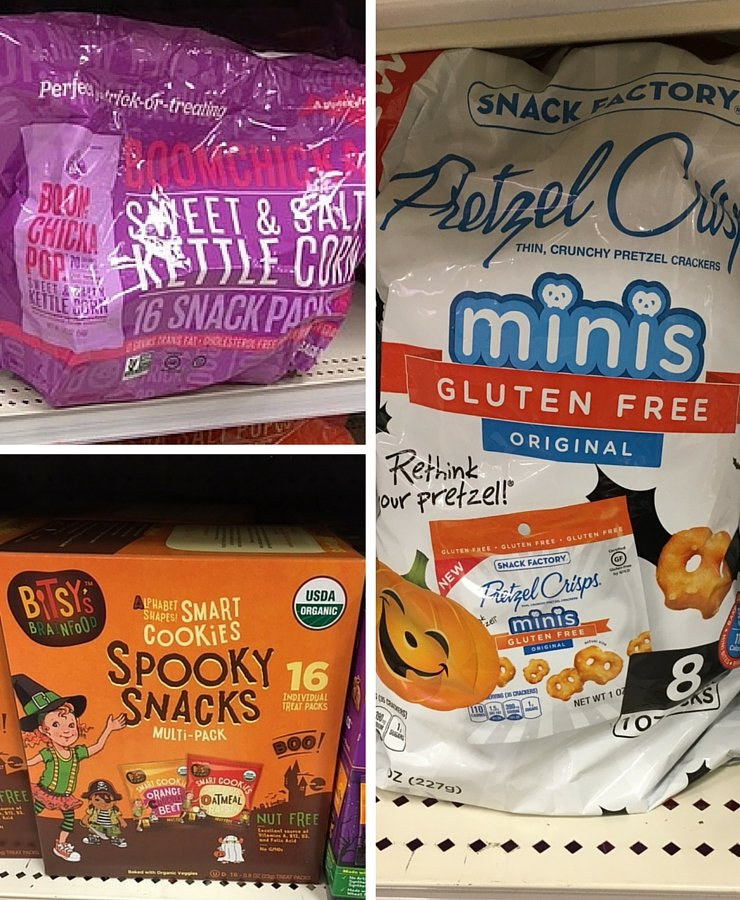 Healthy snack packs make great alternatives for trick or treats for a gluten-free, allergy-friendly Halloween