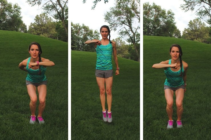 10-Minute Tabata Jumping Side Hooks