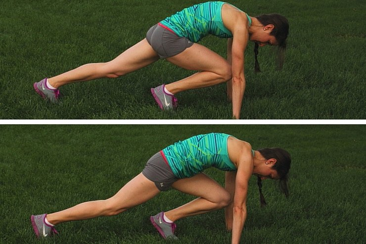 10-Minute Tabata Mountain Climbers