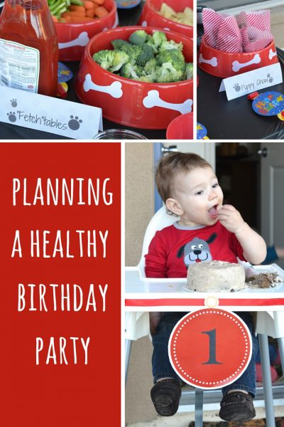 Planning a Healthy Birthday Party