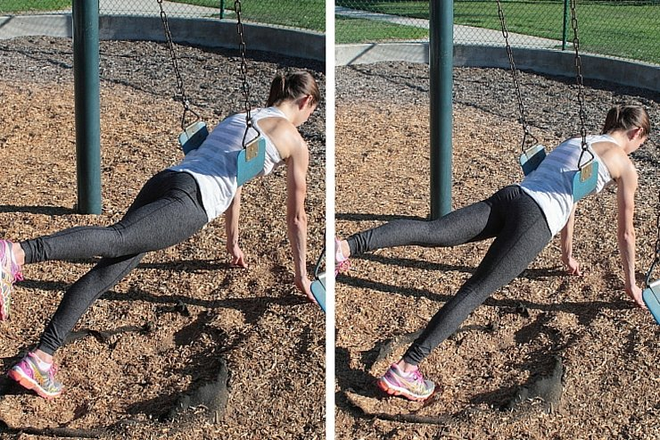 Playground Workout - Butt Lifters