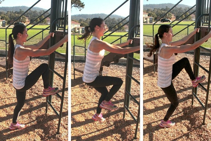 Playground Workout - Hopping Ladder Taps