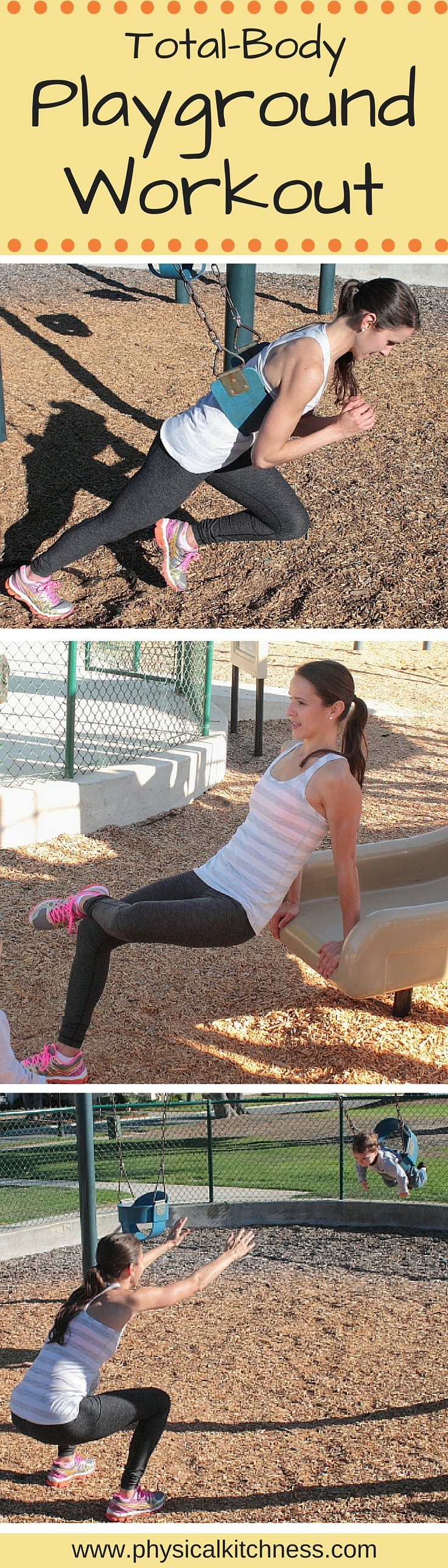 Try This Playground Workout Next Time You Bring The Kids To Park A Winning