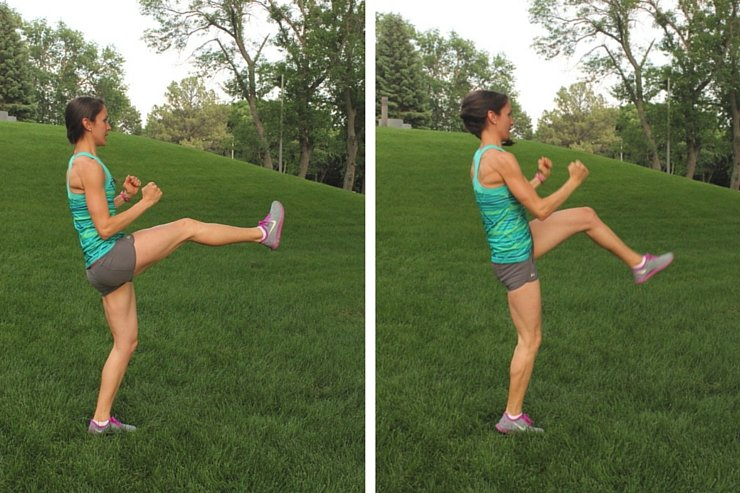 10-Minute Tabata Alternating Switch Kicks