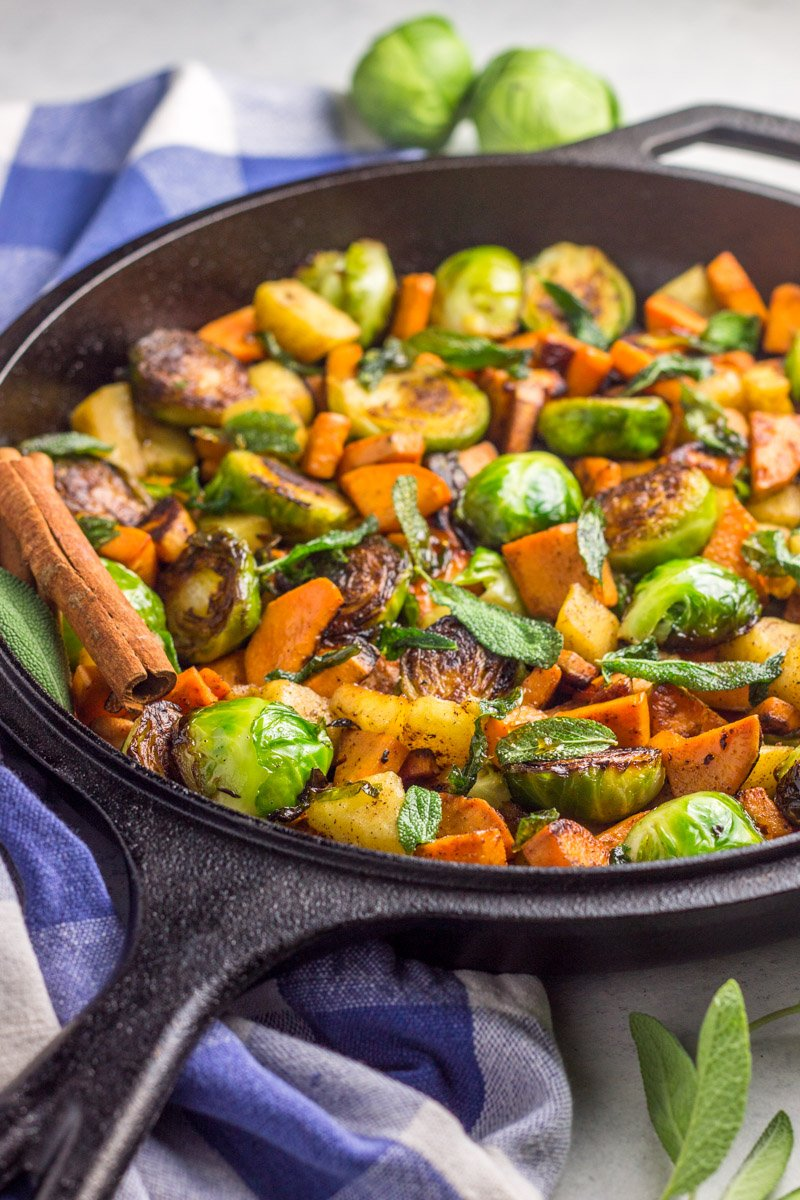 The perfect vegan, paleo, Whole30 breakfast. A simple, one-pot skillet meal