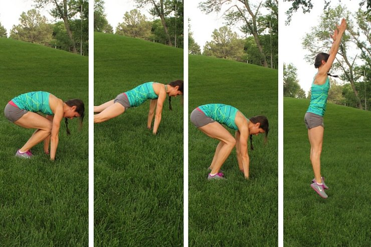 10-Minute Tabata Wide Burpees