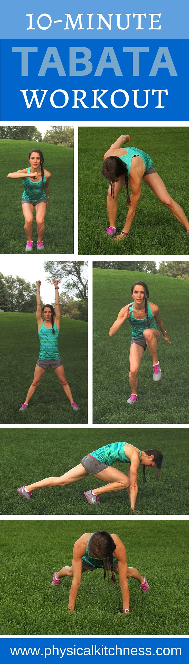 Need a quick, calorie-burning cardio workout? Try this at-home 10-minute Tabata