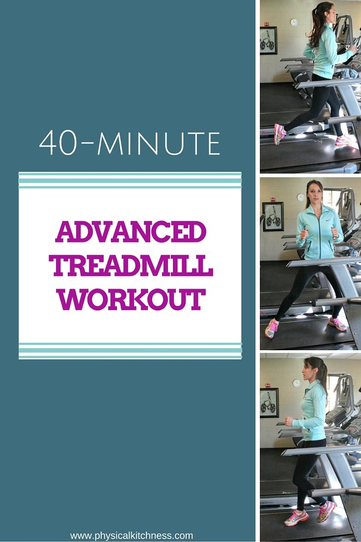 Not your typical treadmill workout! This advanced treadmill circuit BURNS calories and keeps it fresh by varying directions, pace, and incline.