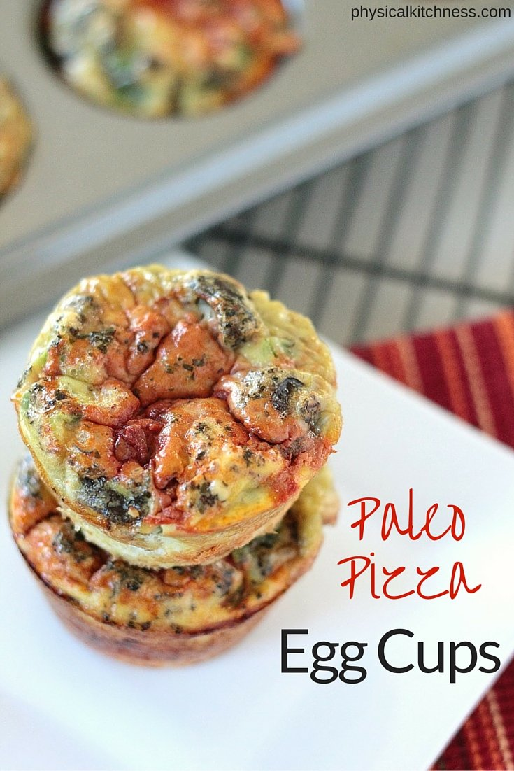 You HAVE to try these paleo, Whole30 pizza egg cups. A super healthy, perfect breakfast on the go!
