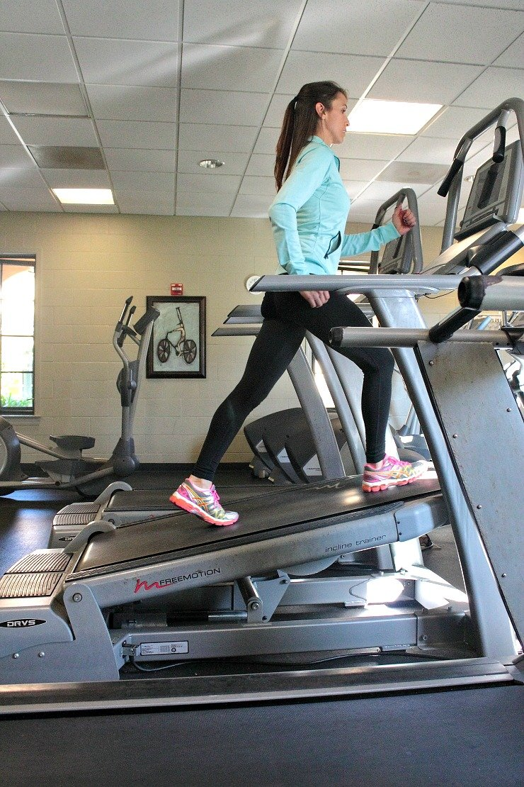 Varying incline, direction, and speed makes this advanced treadmill workout a killer calorie burner!