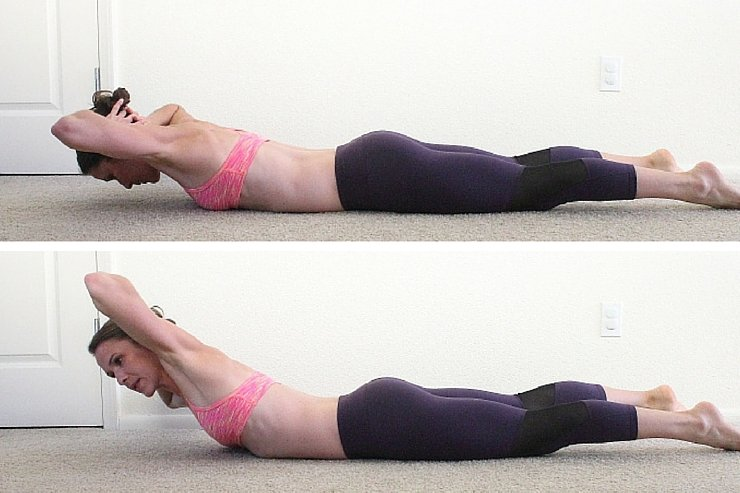 Backwards sit-ups are an amazing way to target lower back fat. Try this workout to sculpt your entire back.