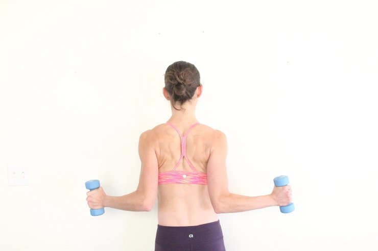 Weighted back exercises target that stubborn back fat. Sculpt and tone your back with these easy to master moves.