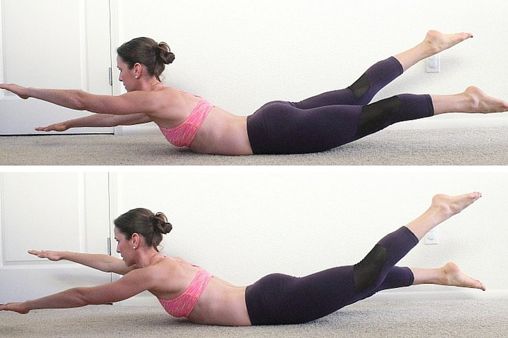 Banish lower back fat with these 8 moves!