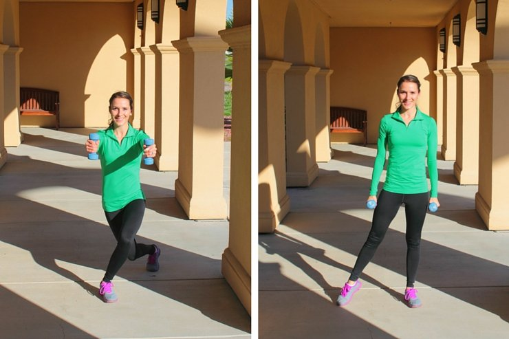 An amazing cardio workout with weights!