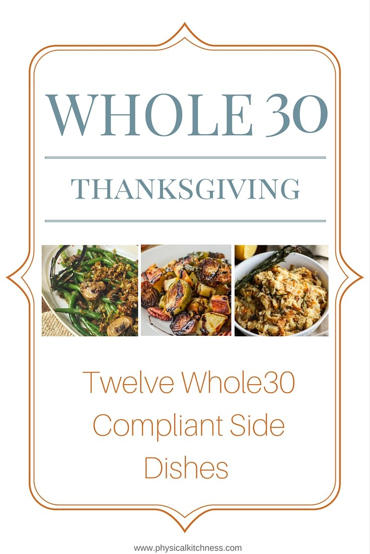 Twelve Whole30 Side Dishes to Serve at Thanksgiving