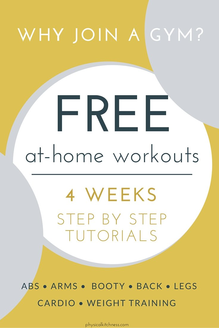 Click here for a FREE 4-week workout calendar. Step-by-step tutorials you can anywhere. Tone, sculpt, and get lean with this amazing fitness guide.