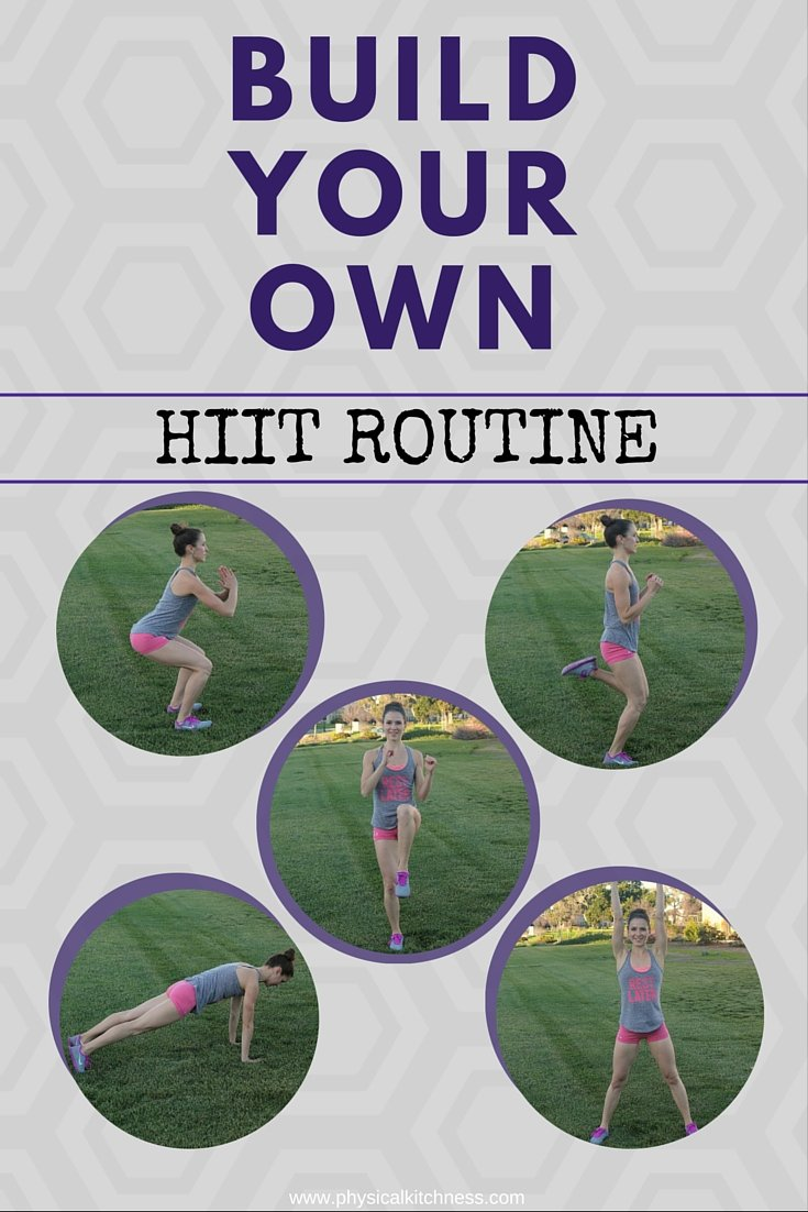 Craft your own HIIT workout with these 5 high intensity moves. Set your reps or do for time, it's up to you!