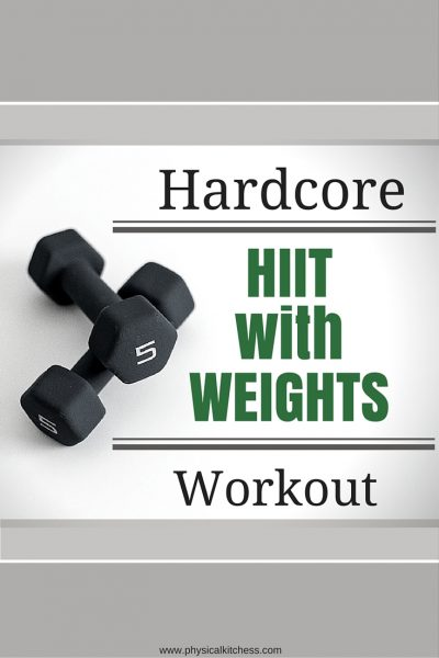 Hardcore HIIT with Weights Workout