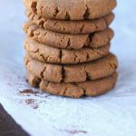 These soft & chewy paleo cookies are also vegan, gluten-free, and only 100 calories! The tastiest and healthiest gingerbread cookies you'll ever taste!