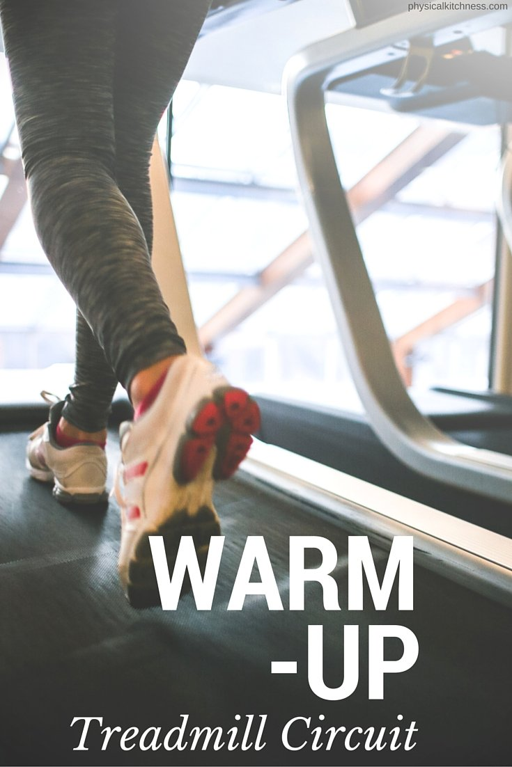 This treadmill circuit is the perfect warm-up for every session at the gym. These 15 minutes of intervals will increase your heart rate and warm up your body!
